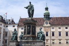 Emperor Franz II, Francis II statue. Royalty Free Stock Photos