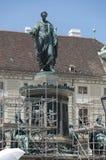 Emperor Franz II Monument Stock Image
