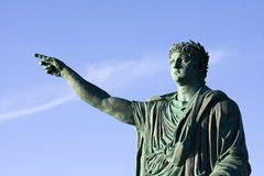 Emperor Nerone Statue Stock Images