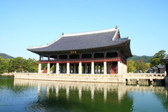 Emperor palace at Seoul Royalty Free Stock Images