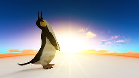 Emperor penguin Stock Images