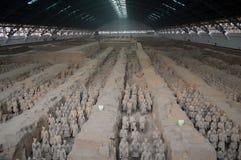 Emperor Qinshihuang Terra-Cotta Warriors Royalty Free Stock Photos