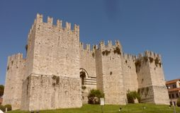 The Emperor`s Castle of the King of Frederick II, Prato stock photo