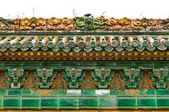 Emperor's Garden-Dragon Wall008 Royalty Free Stock Photos