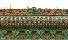 Emperor's Garden-Dragon Wall004 Royalty Free Stock Photo