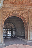 Emperor's Palace Interior (1) Red Fort Delhi Royalty Free Stock Images