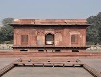 Emperor's Palace Pavillion Red Fort Delhi Stock Photos