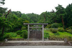 Emperor Taisho`s tomb, Hachioji, Japan Stock Photos