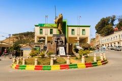 Emperor Tewodros monument. Stock Photo