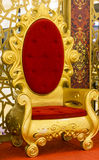 Emperor throne Royalty Free Stock Images