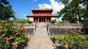 Emperor Tomb Hue Vietnam. Emperor Minh Mang Tomb near Hue, Vietnam stock images