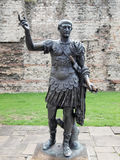 Emperor Trajan Statue Stock Photography