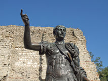 Emperor Trajan Statue Royalty Free Stock Photos