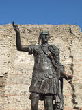 Emperor Trajan Statue Royalty Free Stock Photography