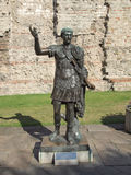 Emperor Trajan Statue Stock Photo