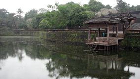 Emperor's Lake, Hue, Vietnam. Emperor Tu Ducs lake at his Royal Tomb, Hue, Vietnam royalty free stock photos