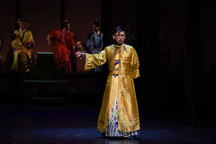 Emperor Yong Zheng-Opening the first act-Modern drama stock photography