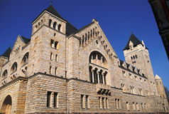 Emperors castle in Poznan Stock Photo