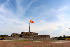 Emperors village ,Hue front entrance Royalty Free Stock Photography