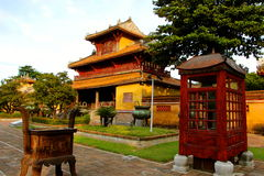 Emperors village ,Hue main house Royalty Free Stock Photos