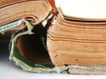Emperramento de livro Imagens de Stock