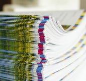 Emperramento de livro imagens de stock royalty free
