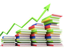 Emperramentos e literatura de livros ilustração royalty free