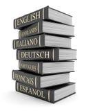 Emperramentos e literatura de livros Imagens de Stock Royalty Free
