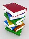 Emperramentos e literatura de livros ilustração do vetor
