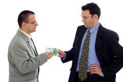 Empfangen von Zahlung Lizenzfreie Stockbilder
