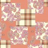 Empfindlich, Illustrationsmuster von schönem Paisley vektor abbildung