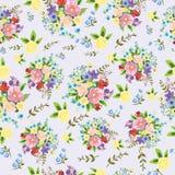Empfindlich, schön, Muster von Blumen stock abbildung