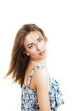 Empfindliche junge Frau Lizenzfreies Stockbild
