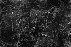 Empfindliche schwarze Marmorbeschaffenheit mit weißen Adern und gelockter nahtloser Musternatur für Hintergrund, abstraktes Monoc lizenzfreies stockbild