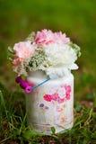 Empfindlicher Blumenstrauß lizenzfreies stockbild