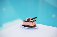 Empfindlicher Kuchen Stockbild