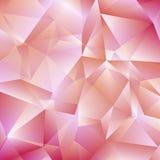 Empfindlicher rosa geometrischer Hintergrund lizenzfreie abbildung