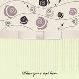 Rosa Hintergrund mit Bogen Lizenzfreies Stockbild