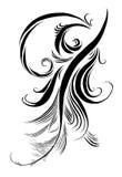 Empfindlicher Stift der Kalligraphie Lizenzfreies Stockbild