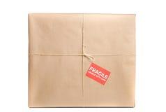 Empfindliches Paket Lizenzfreies Stockbild