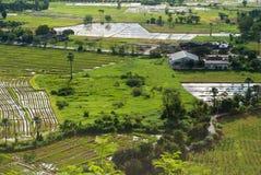Empiétement industriel et agricole Images libres de droits