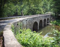 Empiedre el puente Imagen de archivo