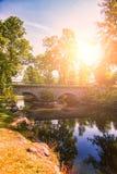 Empiedre el puente Fotografía de archivo