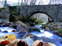 Empiedre el puente Imágenes de archivo libres de regalías