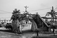 Empiedre el puente fotografía de archivo libre de regalías