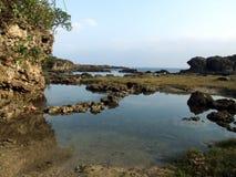 Empiedre la costa Imagenes de archivo