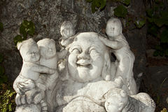 Empiedre la estatua de Buddha Imagen de archivo
