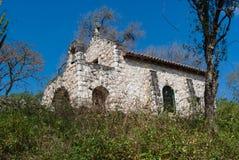 Empiedre la iglesia Fotografía de archivo