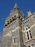 Empiedre la torre de la universidad de Georgetown Fotos de archivo