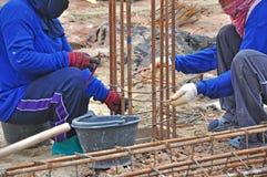 Empilage de construction Photo libre de droits